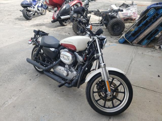 Harley-Davidson salvage cars for sale: 2012 Harley-Davidson XL883 Super