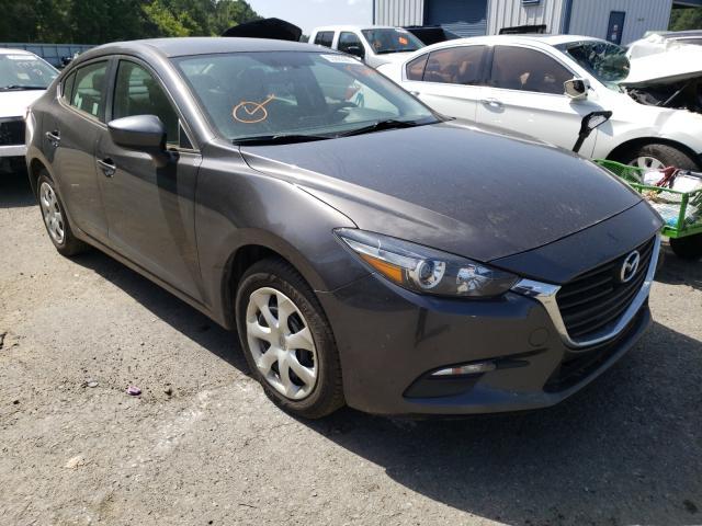 Salvage cars for sale at Shreveport, LA auction: 2017 Mazda 3 Sport