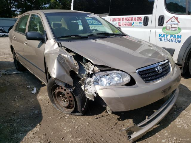 Salvage cars for sale from Copart Billerica, MA: 2008 Toyota Corolla CE