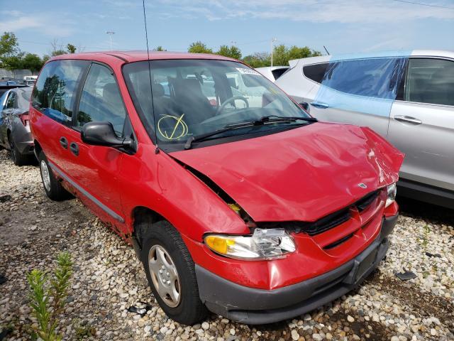 Dodge Caravan salvage cars for sale: 2000 Dodge Caravan