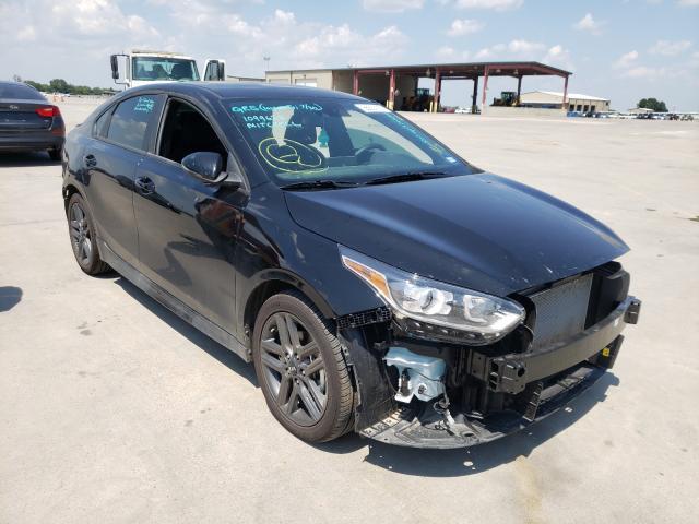 Vehiculos salvage en venta de Copart Wilmer, TX: 2021 KIA Forte GT L
