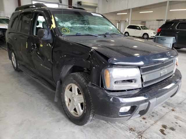 Salvage cars for sale from Copart Avon, MN: 2003 Chevrolet Trailblazer