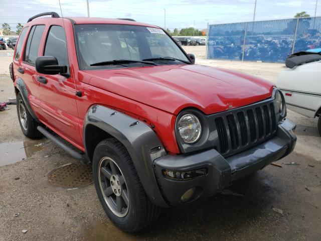 Jeep Liberty salvage cars for sale: 2003 Jeep Liberty