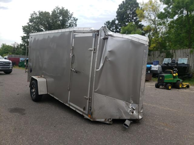 Salvage trucks for sale at Ham Lake, MN auction: 2020 Stel Trailer