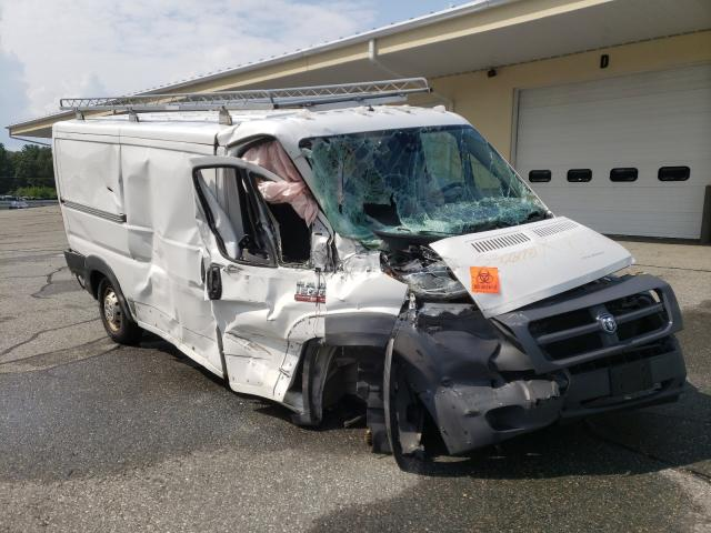 Salvage cars for sale from Copart Exeter, RI: 2015 Dodge RAM Promaster