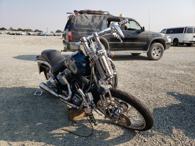 Harley-Davidson salvage cars for sale: 1989 Harley-Davidson Fxsts
