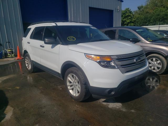 Salvage cars for sale from Copart Glassboro, NJ: 2015 Ford Explorer