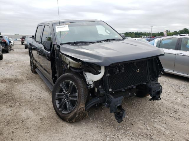 Salvage cars for sale from Copart Leroy, NY: 2021 Ford F150 Super
