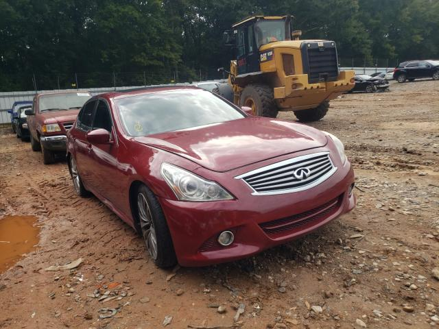 Salvage cars for sale from Copart Austell, GA: 2013 Infiniti G37 Base