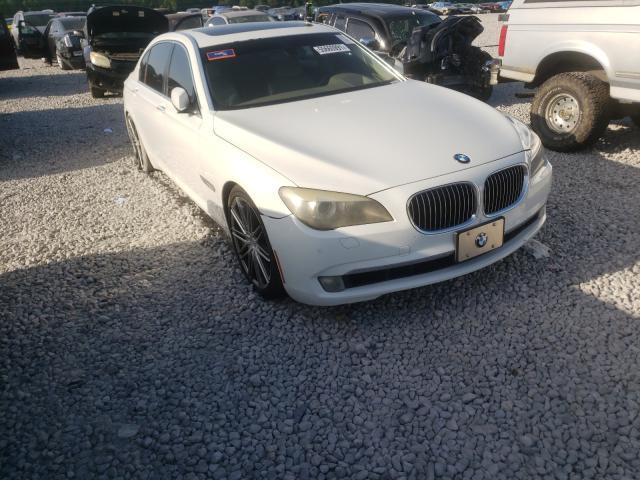 Vehiculos salvage en venta de Copart Memphis, TN: 2009 BMW 750 LI