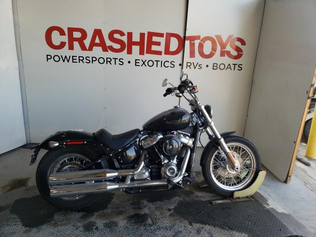 Salvage cars for sale from Copart Kansas City, KS: 2021 Harley-Davidson Fxst