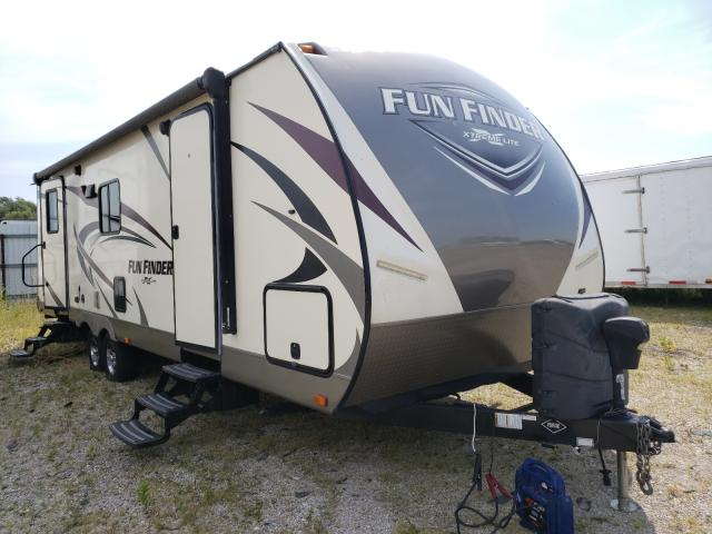 Funf salvage cars for sale: 2018 Funf Travel Trailer