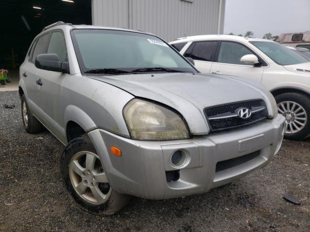 Vehiculos salvage en venta de Copart Jacksonville, FL: 2008 Hyundai Tucson GLS