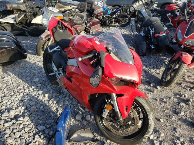 Salvage cars for sale from Copart Hueytown, AL: 2019 Ducati Panigale V