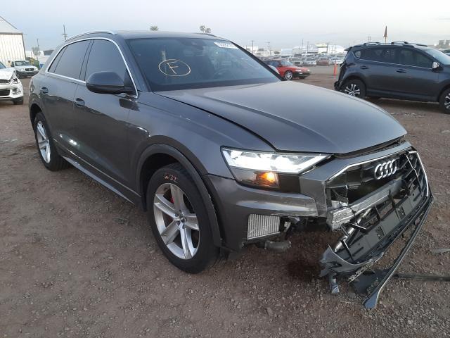 Salvage cars for sale from Copart Phoenix, AZ: 2019 Audi Q8 Premium