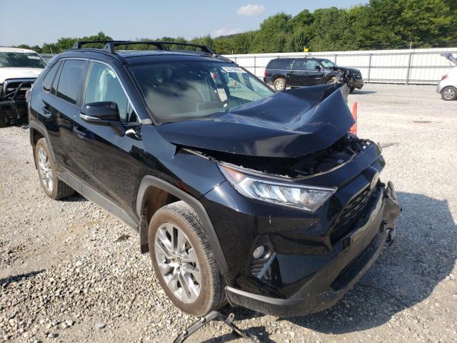 Salvage cars for sale at Prairie Grove, AR auction: 2021 Toyota Rav4 XLE P