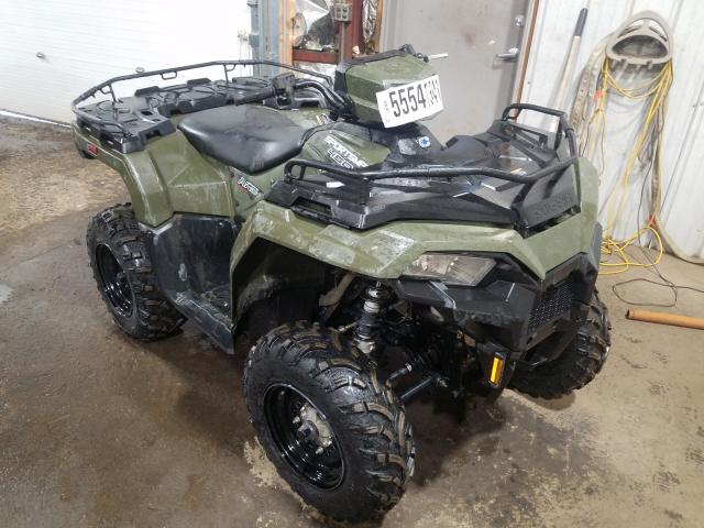 Salvage cars for sale from Copart Anchorage, AK: 2021 Polaris Sportsman