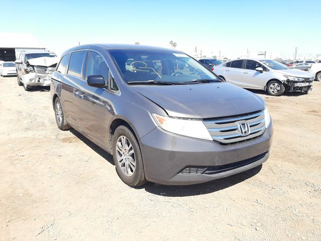 Salvage cars for sale from Copart Phoenix, AZ: 2012 Honda Odyssey EX
