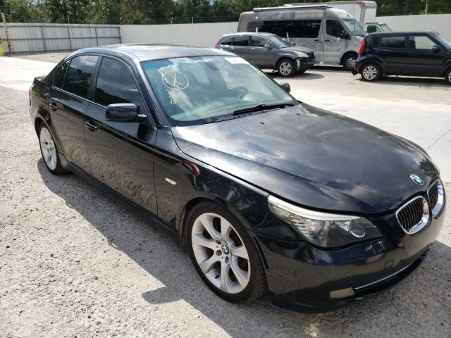 Salvage cars for sale from Copart Greenwell Springs, LA: 2008 BMW 535 I