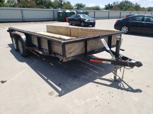 Salvage cars for sale from Copart Wilmer, TX: 2019 C&M Trailer