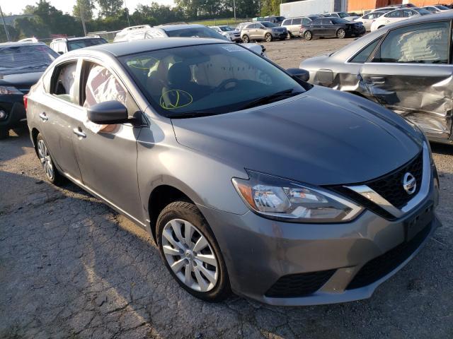 Salvage cars for sale at Bridgeton, MO auction: 2017 Nissan Sentra S