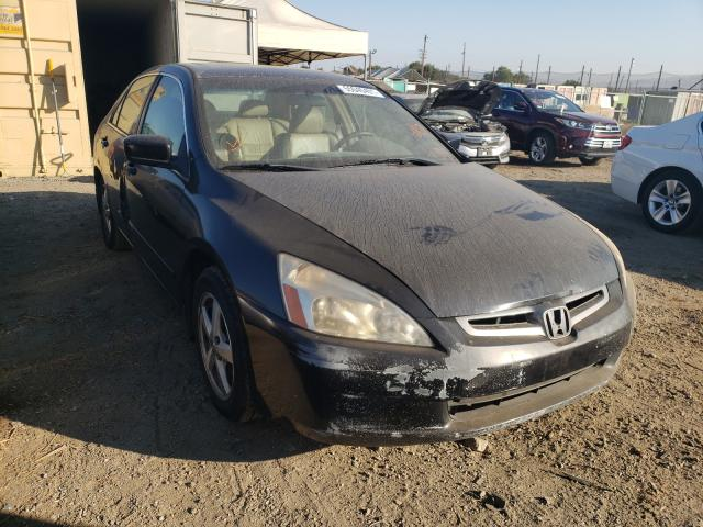 Salvage cars for sale from Copart San Martin, CA: 2004 Honda Accord EX