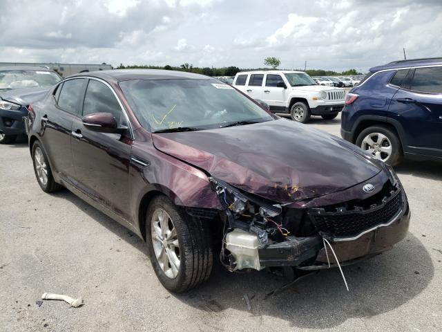 Salvage cars for sale from Copart Orlando, FL: 2013 KIA Optima LX