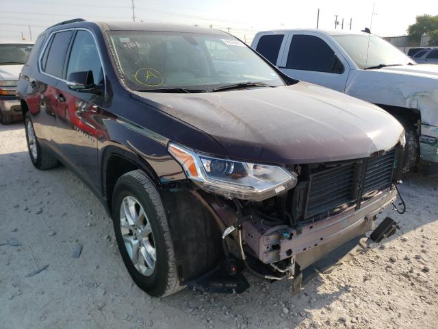 Salvage cars for sale from Copart Haslet, TX: 2019 Chevrolet Traverse L