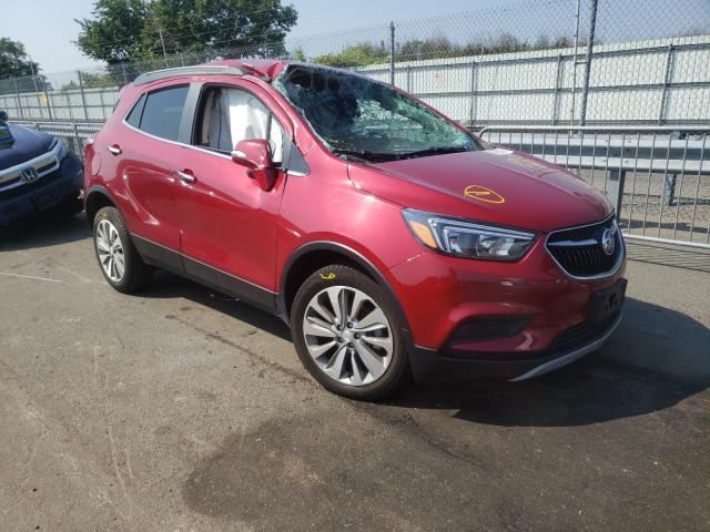 Salvage cars for sale from Copart Brookhaven, NY: 2019 Buick Encore PRE