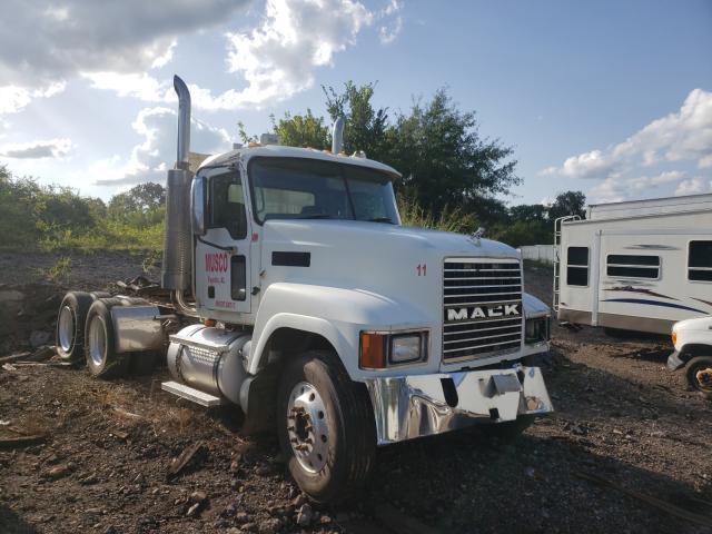 Salvage trucks for sale at Hueytown, AL auction: 2006 Mack 600 CHN600