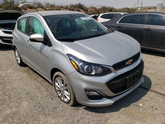 Salvage cars for sale at Reno, NV auction: 2021 Chevrolet Spark 1LT