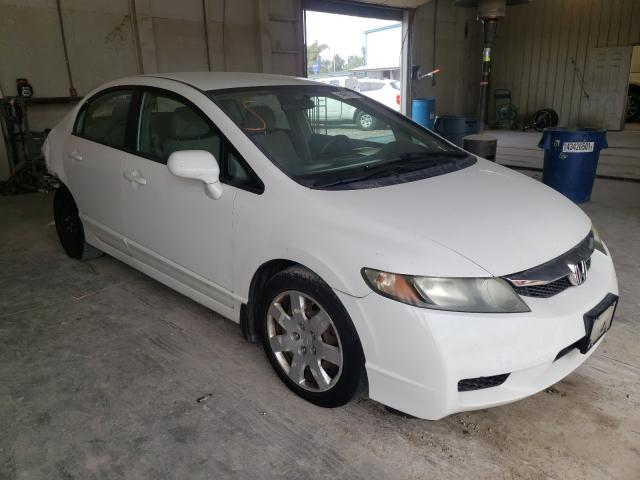 Salvage cars for sale from Copart Madisonville, TN: 2010 Honda Civic LX