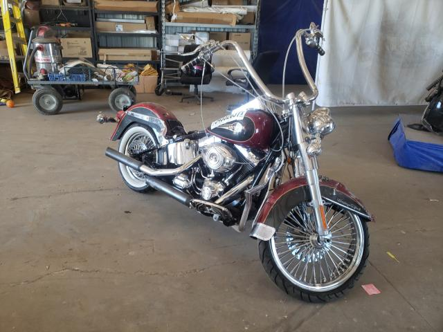 Salvage cars for sale from Copart Amarillo, TX: 2007 Harley-Davidson Flstc