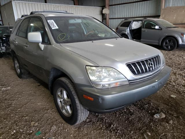 Salvage cars for sale from Copart Houston, TX: 2001 Lexus RX 300