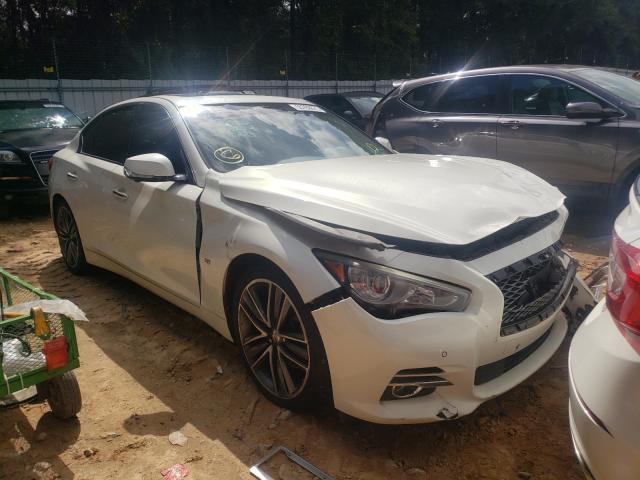 Infiniti Q50 salvage cars for sale: 2014 Infiniti Q50