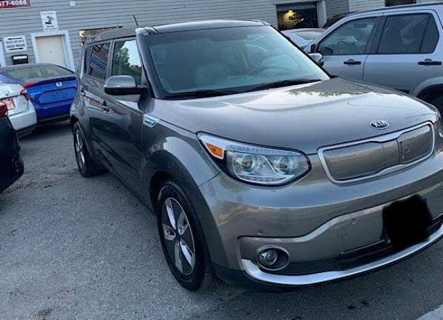 Salvage cars for sale from Copart Ontario Auction, ON: 2018 KIA Soul EV LU