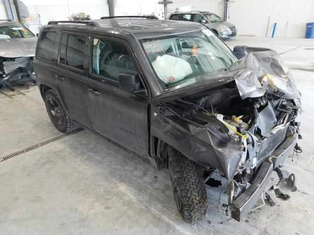 Salvage cars for sale at Greenwood, NE auction: 2014 Jeep Patriot SP
