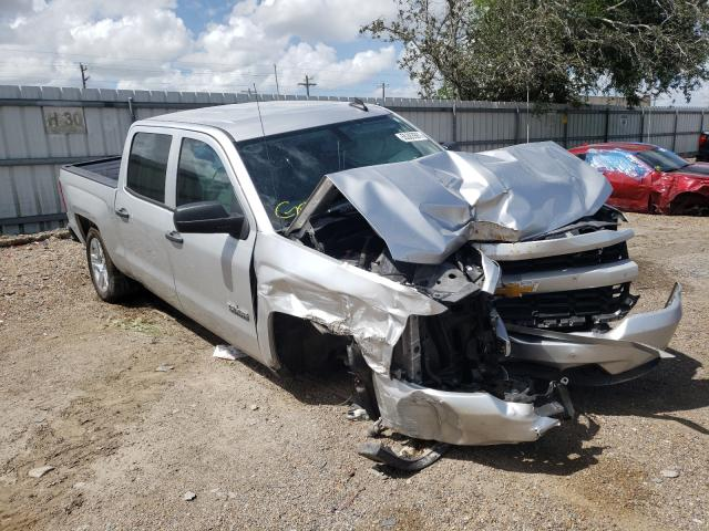 Salvage cars for sale from Copart Mercedes, TX: 2018 Chevrolet Silverado