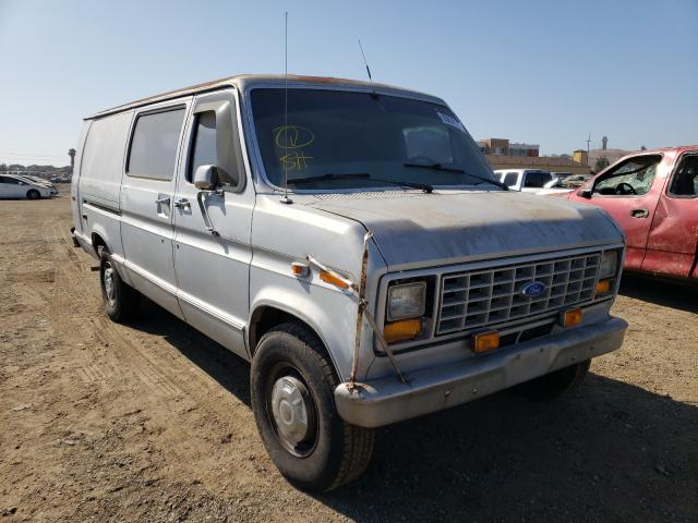 Salvage cars for sale from Copart San Martin, CA: 1991 Ford Econoline