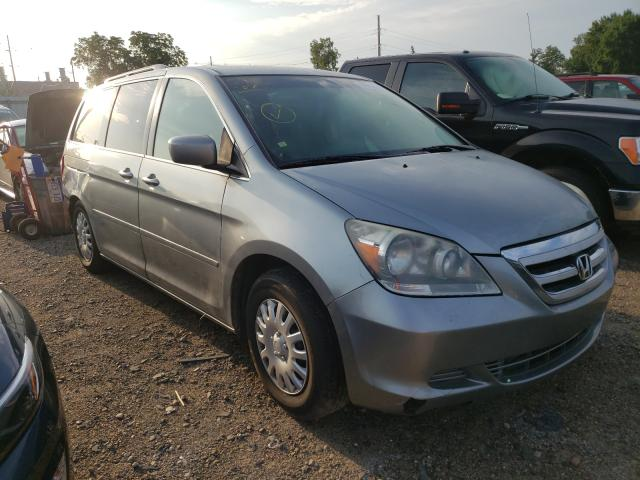 Salvage cars for sale from Copart Lansing, MI: 2007 Honda Odyssey EX