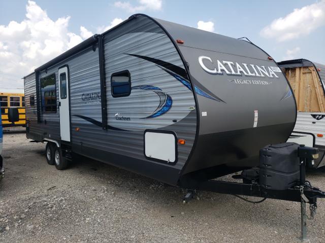 Coachmen Catalina salvage cars for sale: 2019 Coachmen Catalina