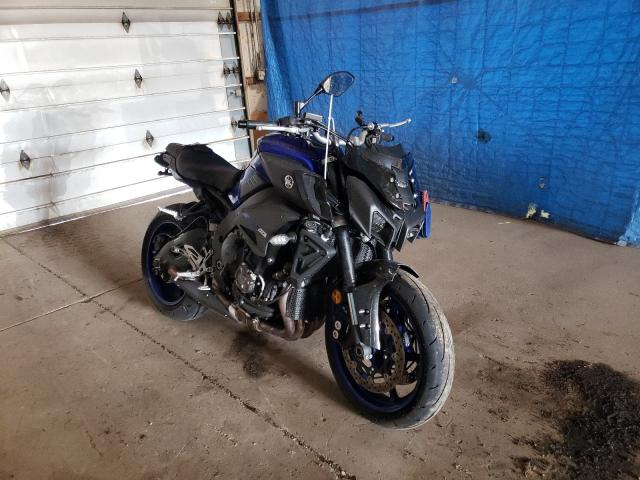 Salvage cars for sale from Copart Columbia Station, OH: 2018 Yamaha MT10