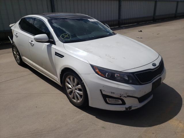 Vehiculos salvage en venta de Copart Wilmer, TX: 2015 KIA Optima EX
