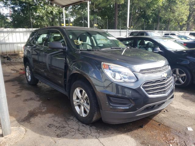 Vehiculos salvage en venta de Copart Austell, GA: 2017 Chevrolet Equinox LS