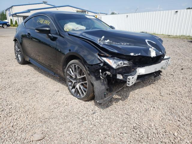 Salvage cars for sale from Copart Central Square, NY: 2015 Lexus RC 350