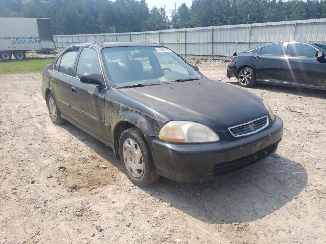 Salvage cars for sale at Charles City, VA auction: 1996 Honda Civic EX