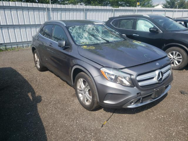 Salvage cars for sale from Copart Bowmanville, ON: 2015 Mercedes-Benz GLA 250 4M
