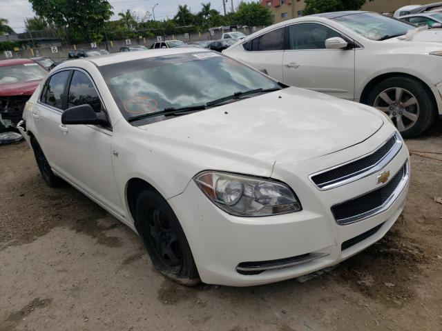 Salvage cars for sale from Copart Opa Locka, FL: 2008 Chevrolet Malibu LS