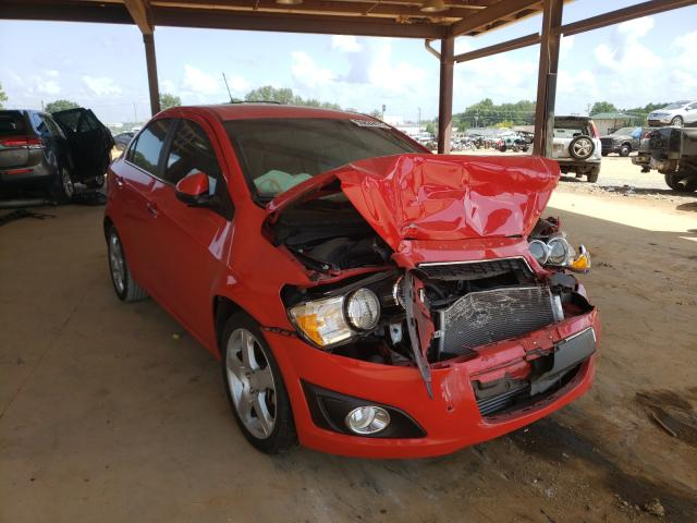 Salvage cars for sale from Copart Tanner, AL: 2015 Chevrolet Sonic LTZ