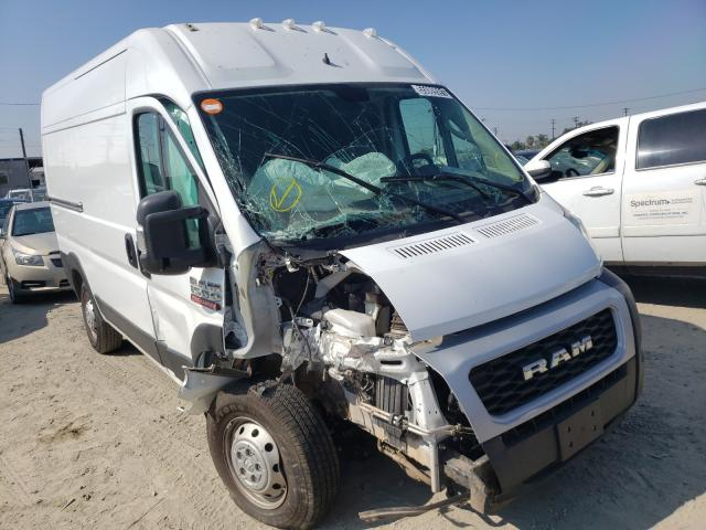 Salvage trucks for sale at Los Angeles, CA auction: 2020 Dodge RAM Promaster